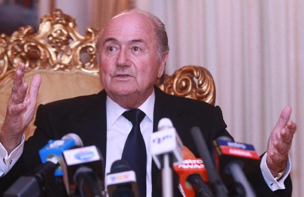 FIFA President Blatter hints at future retirement plans