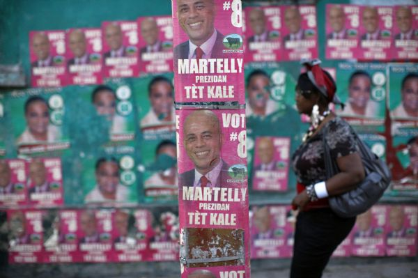 Haiti's presidential runoff election begins