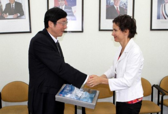 CPC delegation from Guangxi visits Chile