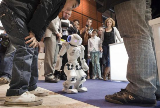 Robot expo held in France