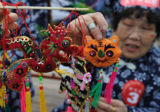 Handicrafts competition kicks off in Hanzhong, China's Shaanxi