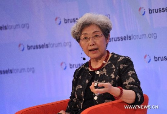 Chinese Deputy FM attends proseminar of China's rising in Belgium