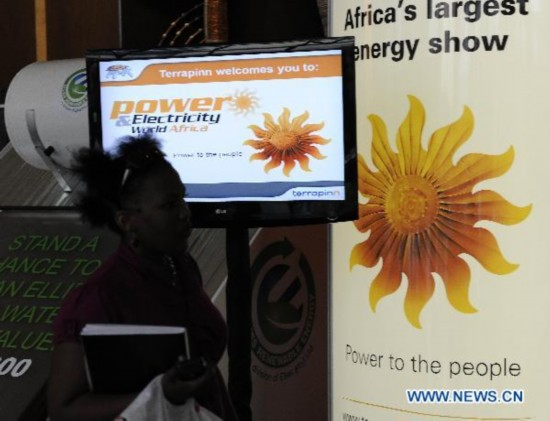 Power and Electricity World Africa 2011 held in Johannesburg