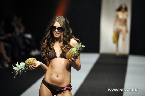 Swimsuit show at Belgrade Fashion Week
