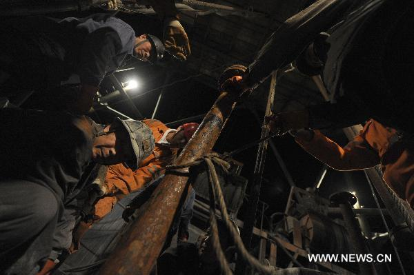 Coal mine accident in NW China traps 6, rescue work underway