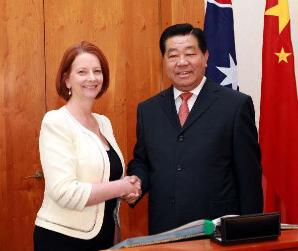 Close trade relations strong impetus to China-Australian overall ties: CPPCC Chairman
