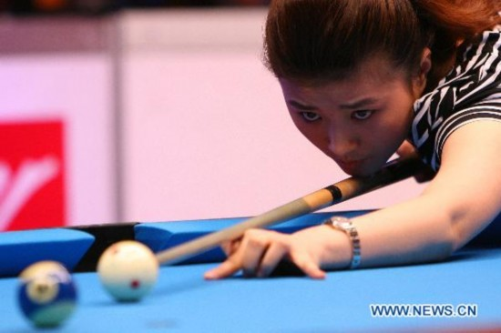 Chinese players at Philippine Open Pool Championships