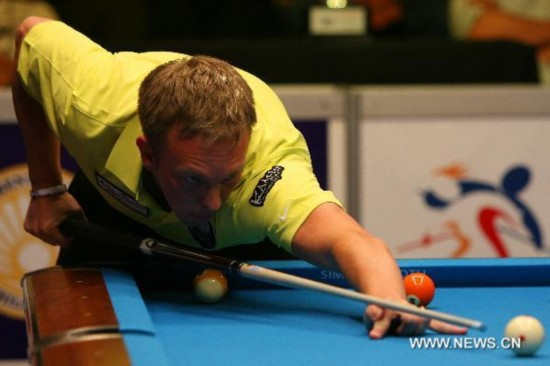 Thorsten becomes overall champion at Philippine Open