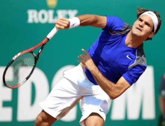 Federer cruises into next round at Monte Carlo Masters