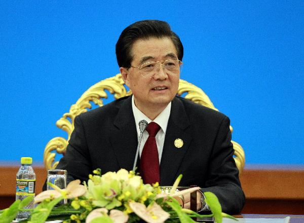 President Hu urges bigger say for emerging economies