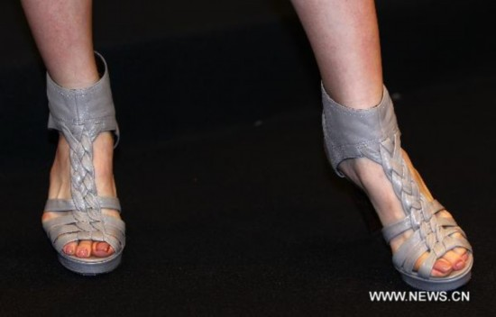 'Luca Stefani' lady's shoes show in Taipei
