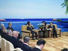 Chinese president meets members of BFA board of directors