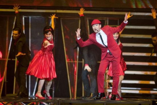 Jacky Cheung presents passionate show in HK