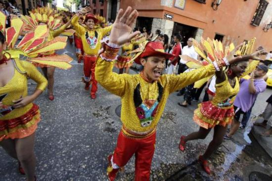 Caribbean arts festival kicks off in NW Colombia