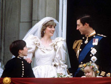 In pictures: memories of fairy-tale royal family in UK