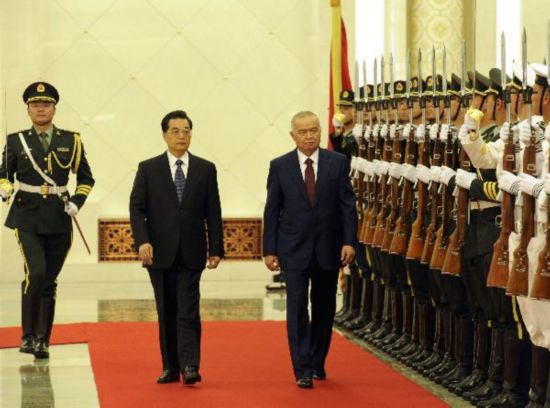 Chinese President holds welcome ceremony in honor of Uzbekistan President in Beijing