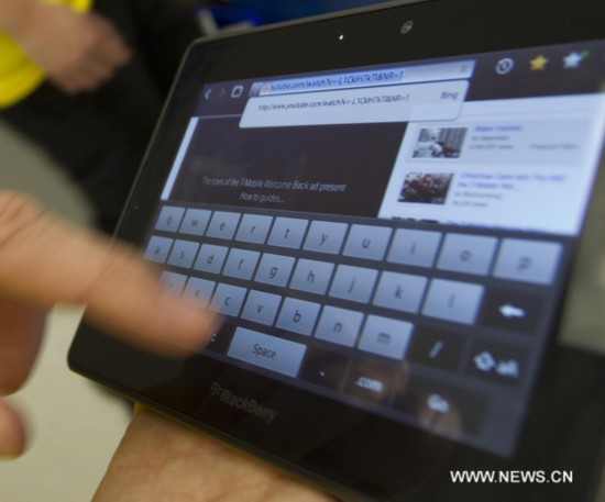 BlackBerry PlayBook starts its sale in U.S. and Canada