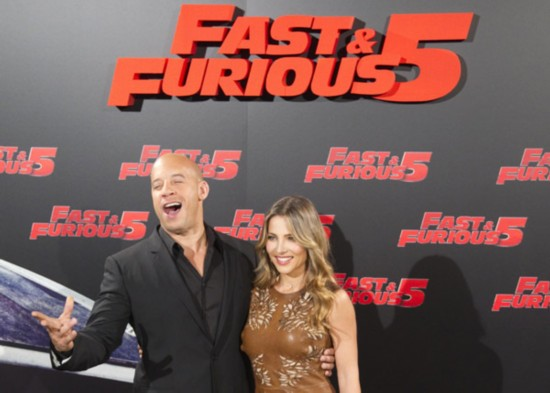 "Cast members promote ""Fast and Furious 5"" in Madrid"
