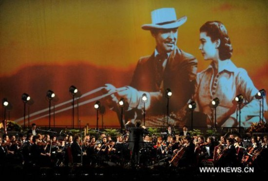 Classic film scores reenacted during Beijing Int'l Film Festival