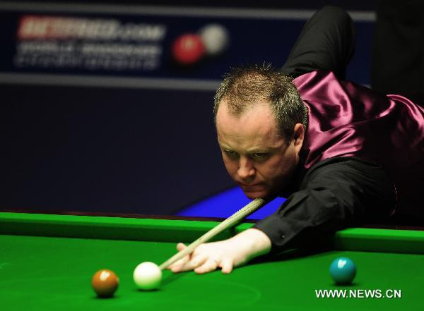 Higgins wins fourth title at snooker worlds