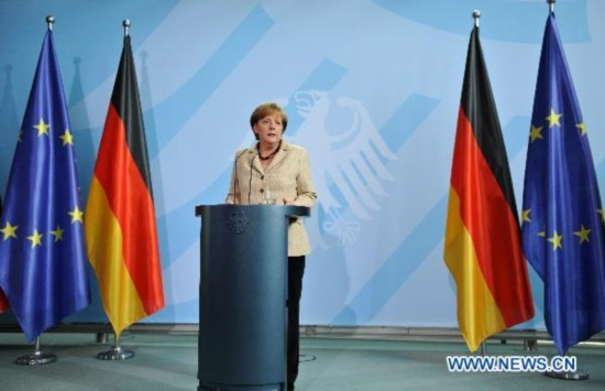 German Chancellor: Killing Bin Laden 'glad'