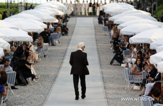 Karl Lagerfeld presents Cruise collection show for Chanel