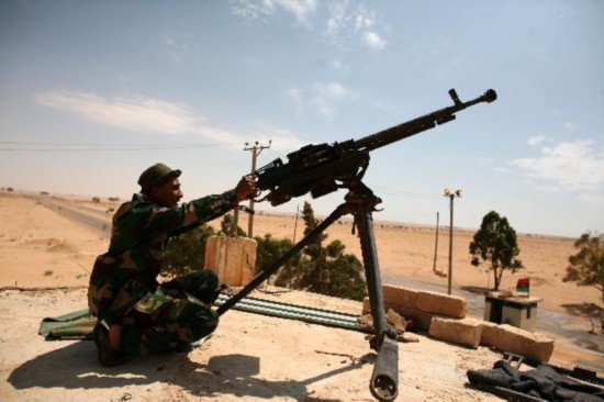 NATO attacks Tripoli in Libya; rebels report gains