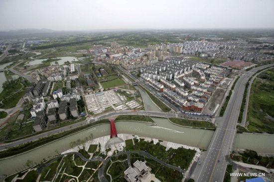 Three years after quake, new towns rise in SW China