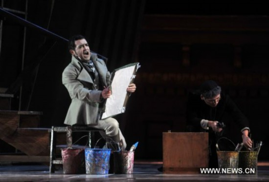 New version of Piccini's 'Tosca' to premiere in Beijing