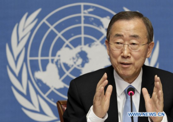UN secretary-general speaks on Syria and Libya situation