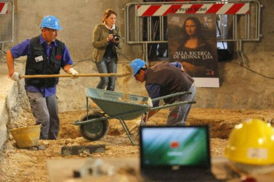 Archaeologists hunt for Mona Lisa model