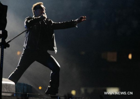 U2's 360Tour concert in Mexico