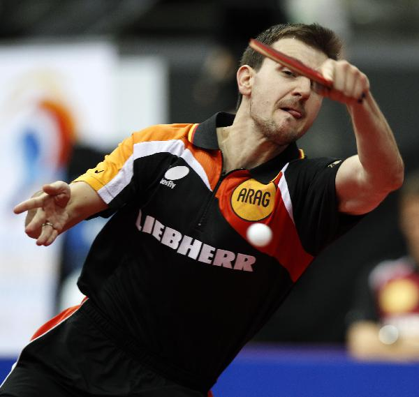 Boll ousted in table tennis semis