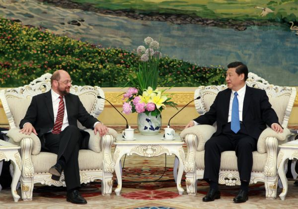 China-EU ties healthy, beneficial: Chinese vice president