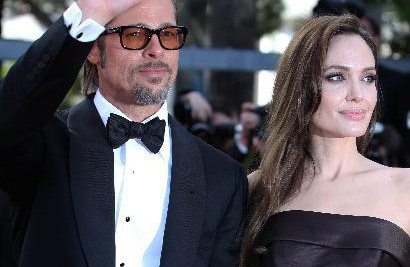 "Brad Pitt, Angelina Jolie dazzle at Cannes ""Life"" premiere"