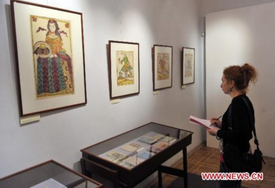 Prints of fairytales exhibited in Moscow museum