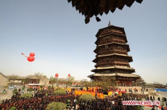 Application of Sakyamuni Pagoda for UNESCO cultural relics to be finished by July