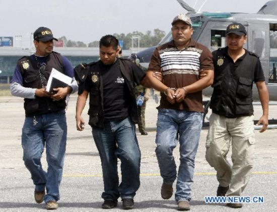 Mexico massacre suspect captured by Guatemala policemen