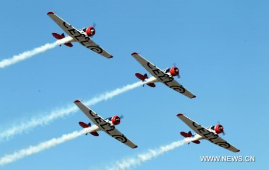 Grand Rand Air Show held in Johannesburg