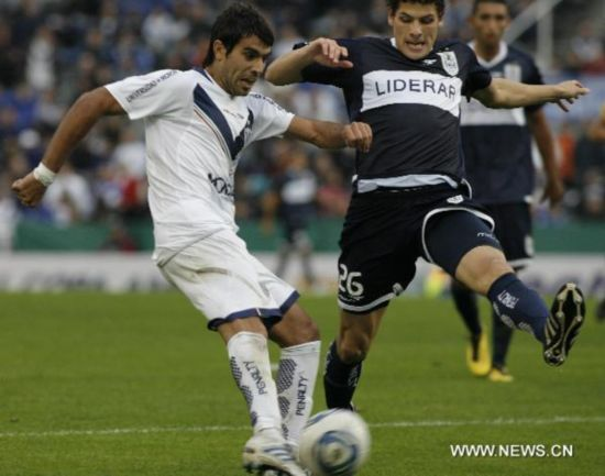 Velez Sarfield wins Argentine First Division match