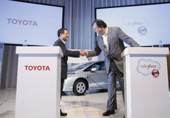 Toyota, Salesforce.com build social network