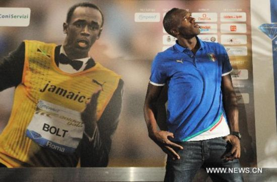 Bolt to make season debut in Rome Golden Gala