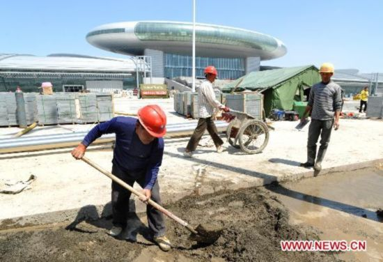 100-day countdown ceremony of 1st China-Eurasia Expo held in Urumqi