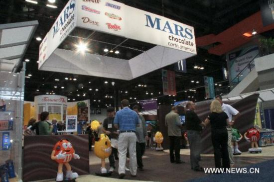 Sweets and Snacks Expo 2011 held in Chicago