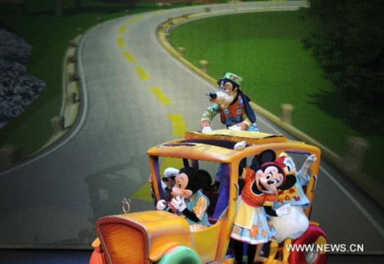 "Disney musical ""Mickey's Rockin' Road Show"" staged in Taipei"