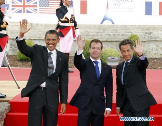 G8 Summit kicks off, focusing on nuclear safety, Arab situation