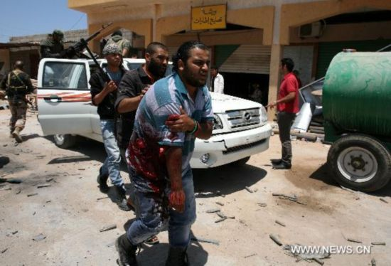 Fierce fighting continues in Libya's Misrata