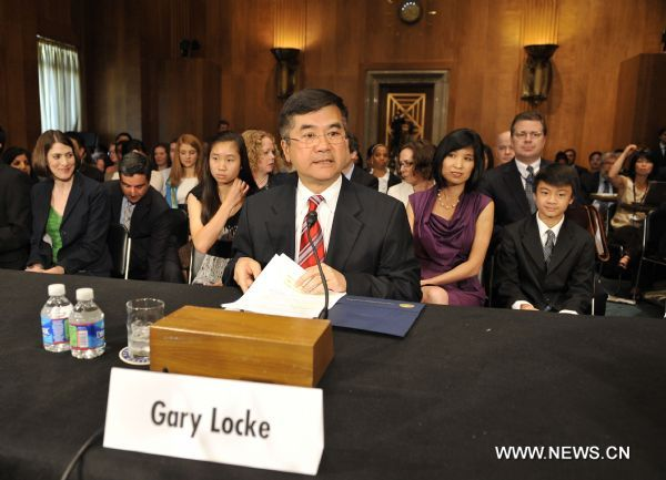Locke vows to build positive, cooperative, comprehensive relationship with China