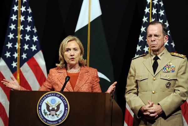 U.S. Secretary of State asks Pakistan to take decisive action against militants