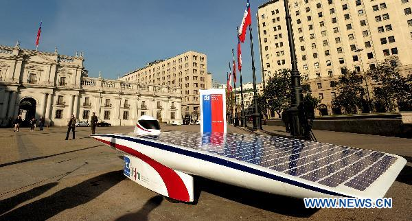 Chilean students develop solar vehicle EOLIAN 2